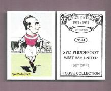 West Ham United Syd Puddefoot 44 (FC)